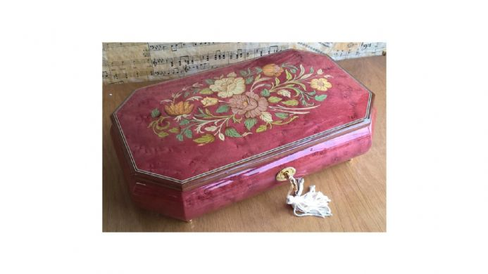 Ballerina musical jewellery box from The Music Box Shop UK
